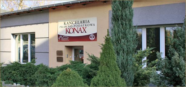 """Zespół Kancelaria Prawno-Podatkowa """"Konax"""" Zuzanna Kilarska, Paweł KilarskiSpółka Cywilna"""