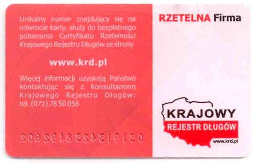 """Certyfikat Przedsiębiorstwo Usług Podatkowych """"Wawel-Express"""" Ochenduszko Zbigniew"""