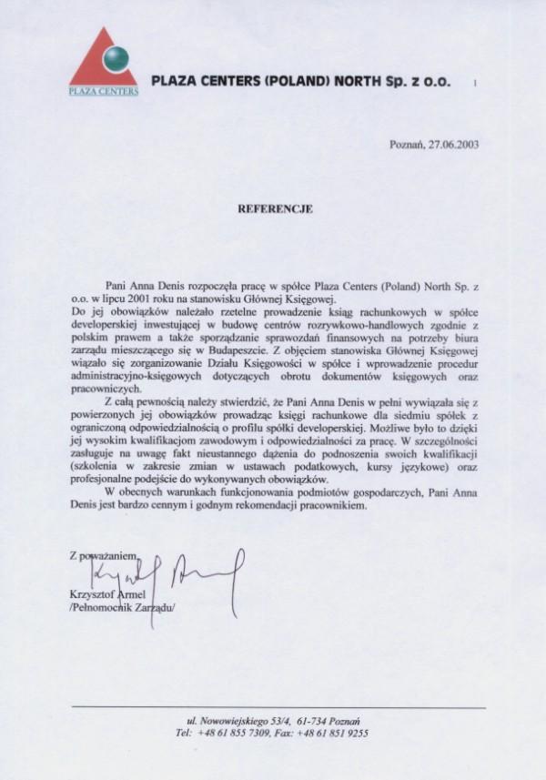 Zobacz referencje Tax & Finance Biuro Rachunkowe Anna Denis