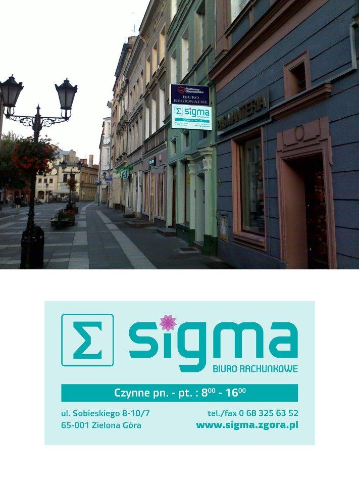 """Zespół Biuro Rachunkowe """"SIGMA"""" Małgorzata Łukowczyk"""