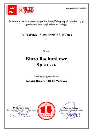 Unikalny Certyfikat